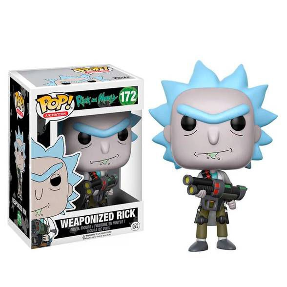 Funko Pop! Rick And Morty - Weaponized Rick