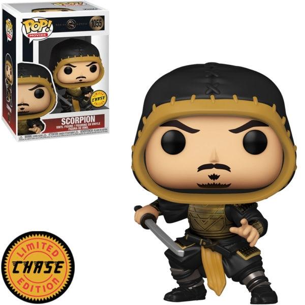 FUNKO POP! Scorpion 1055 Edição Limitada - Mortal Kombat
