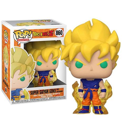 FUNKO POP! Super Saiyan Goku #860 Dragon Ball Z