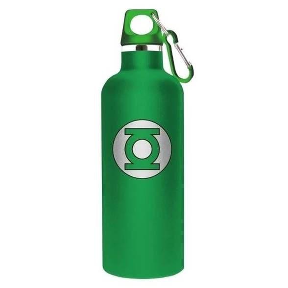 Garrafa Térmica logo do Lanterna Verde