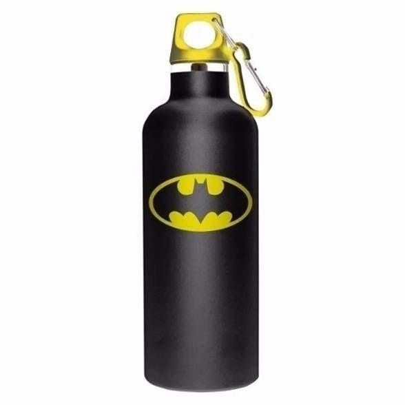 Garrafa Térmica preta logo do Batman