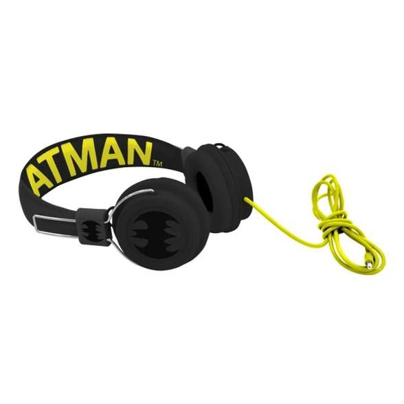 Headphone PVC / Batman Original Preto / Cinza
