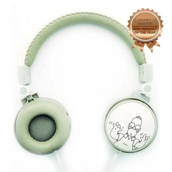 Headphone The Simpsons Homer com Microfone Embutido