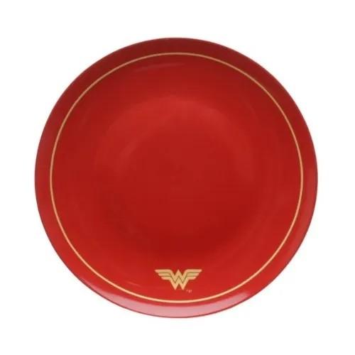 Jogo 02 Pratos de Jantar Mulher Maravilha