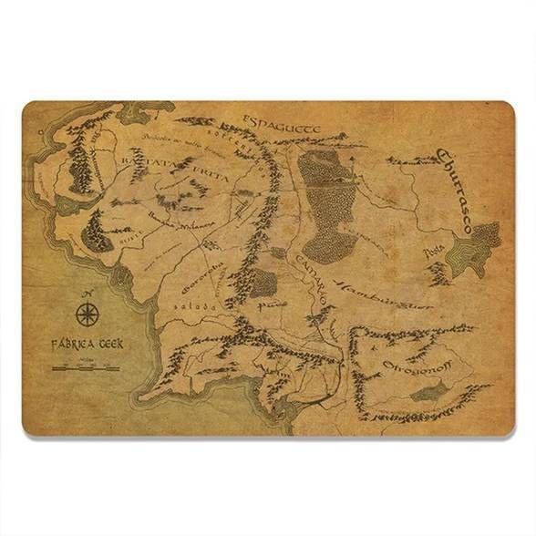 Jogo Americano Mapa (2 peças)