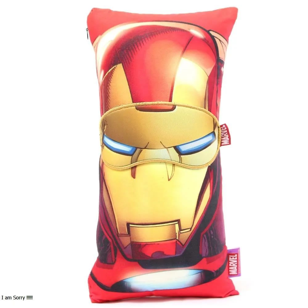 Almofada + Máscara - Homem de Ferro