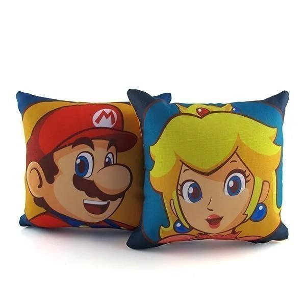 Mini Almofadas - Mario and Peach Kit