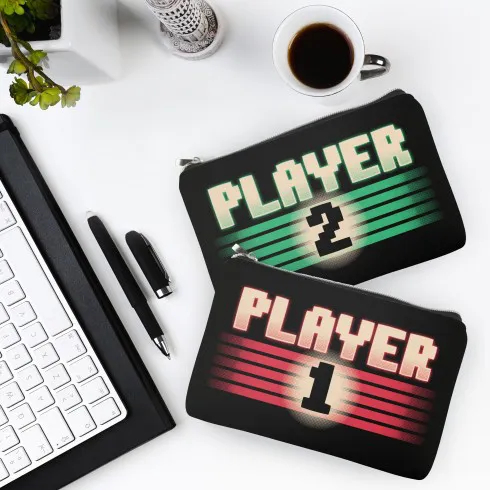 Kit Necessaire Player 1 e Player 2