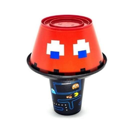 Kit pipoca Snack Pac-Man