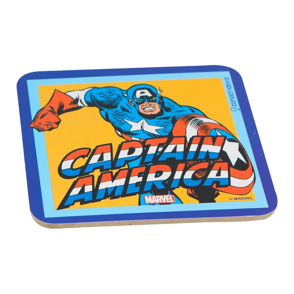 Kit Porta Copos Turma da Marvel