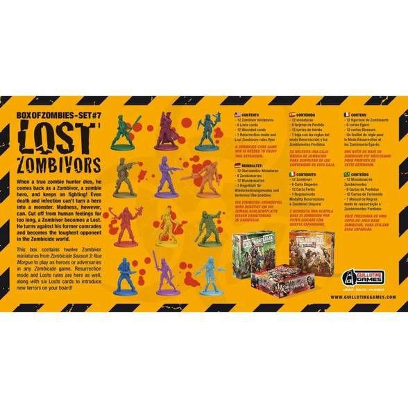 Lost Zombivors - Expansão de Zombicide