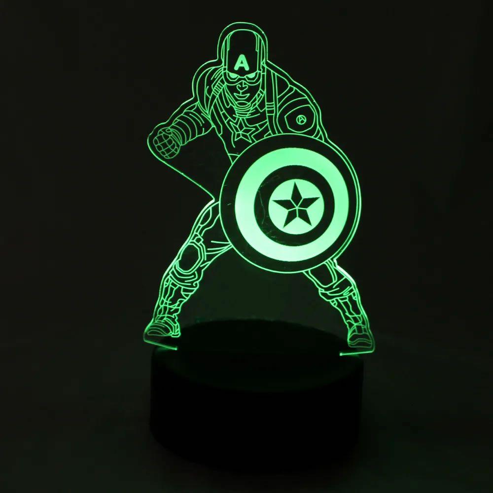 Luminária Capitão América