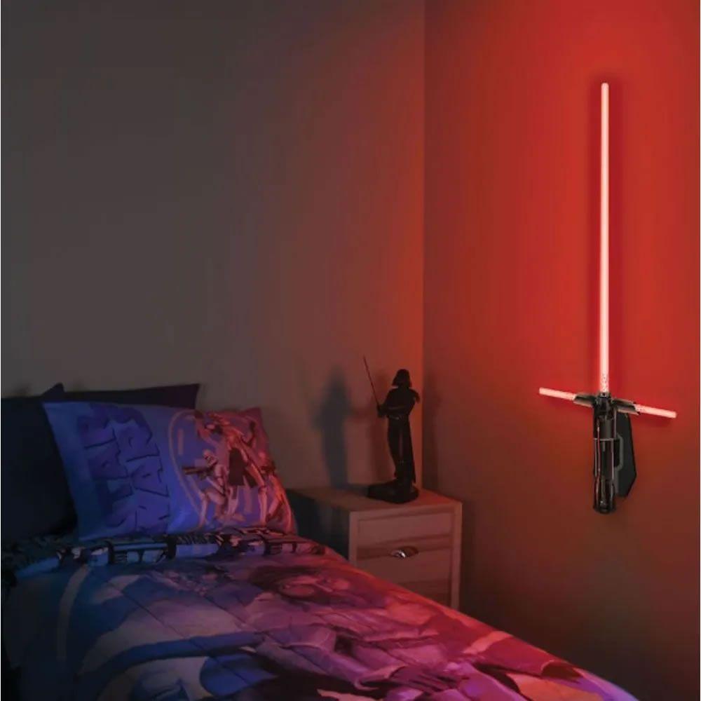 Luminária Uncle Milton Star Wars Sabre de Luz Kylo Ren