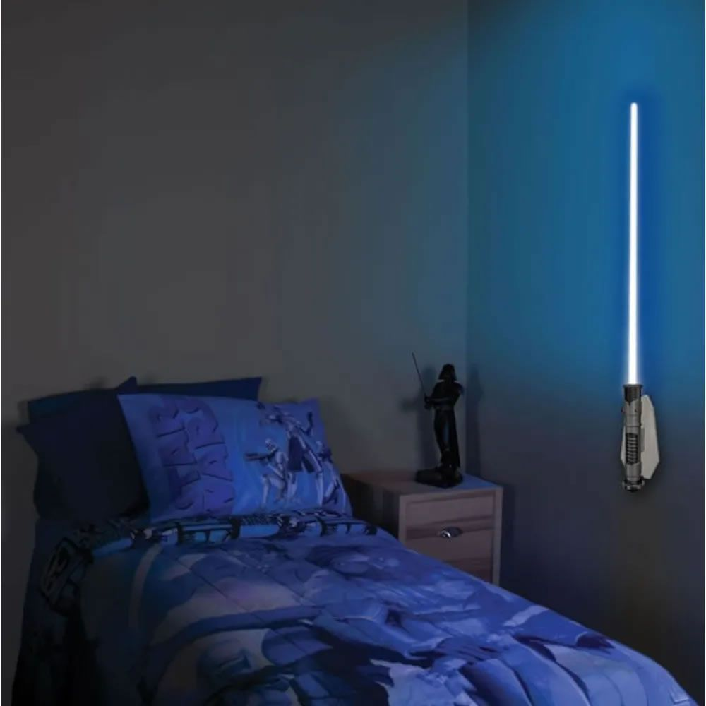 Luminária Uncle Milton Star Wars Sabre de Luz Obi-Wan