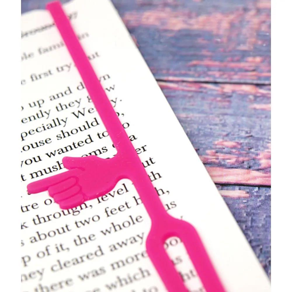 Marcador de livro Finger Bookmark Rosa