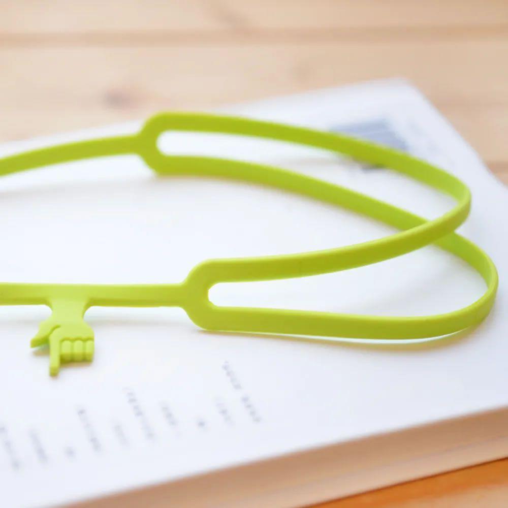 Marcador de livro Finger Bookmark Verde