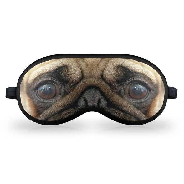 Máscara de Dormir Cãozinho Pug