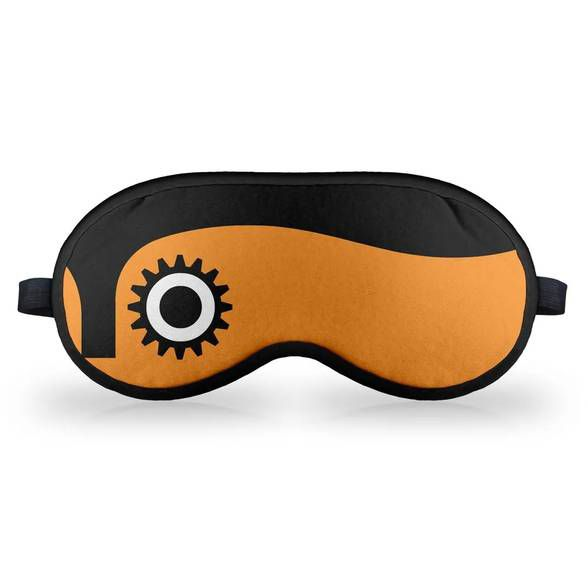 Máscara de Dormir Clock Orange