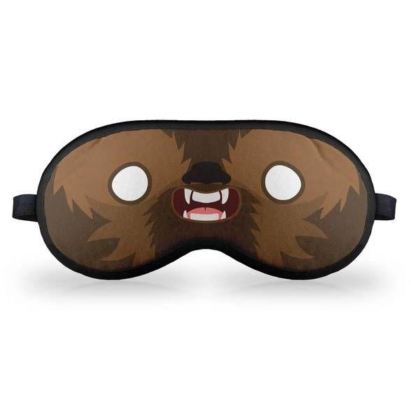 Máscara de Dormir Geek Side Faces - Chill Bacca