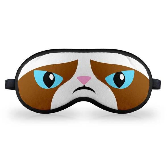 Máscara de Dormir MEME Grumpy Cat