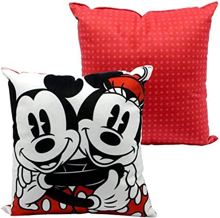 Mini Almofada Mickey e Minnie