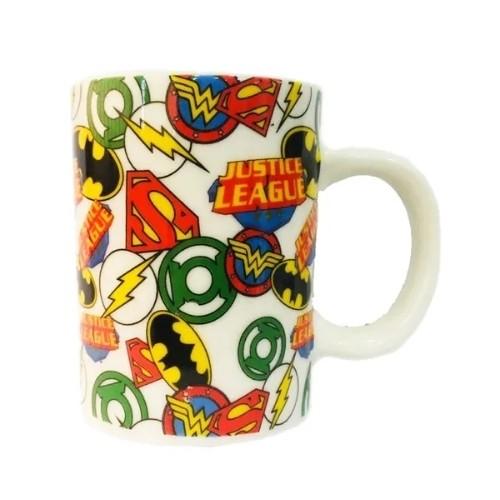 Mini caneca Liga da Justiça Porcelana