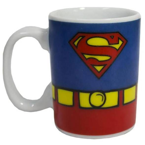 Mini Caneca Porcelana Superman