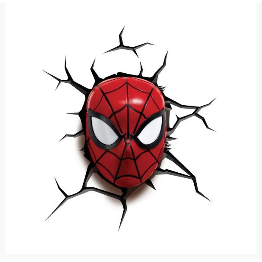 Mini Luminária LIL' 3D Light FX Marvel Homem Aranha