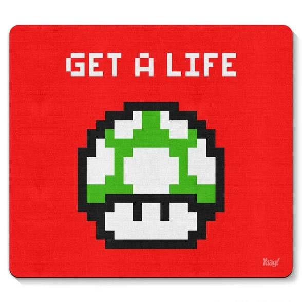 Mouse pad Cogumelo Pixel Get a Life