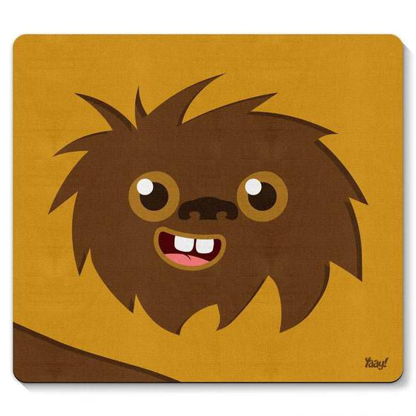 Mouse pad Geek Side Faces - Woks