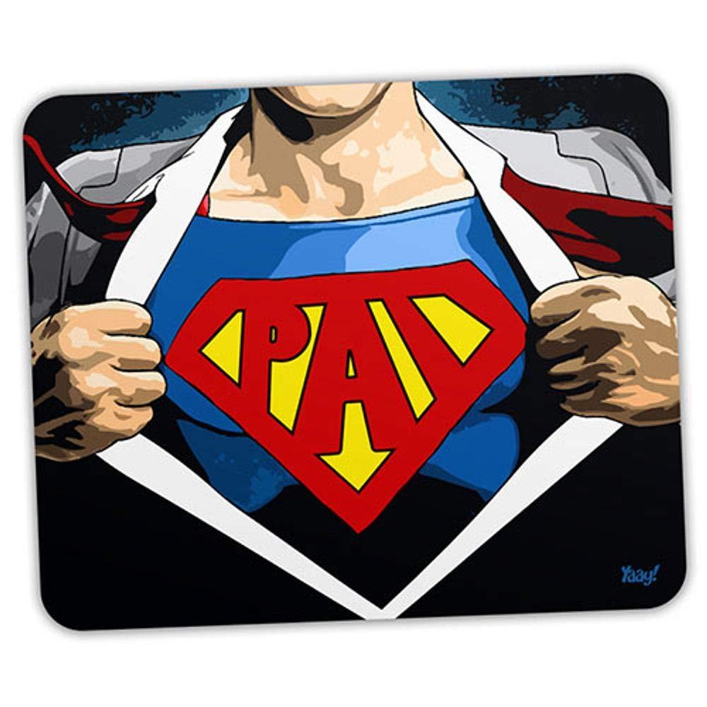 Mouse pad Herói Super Pai