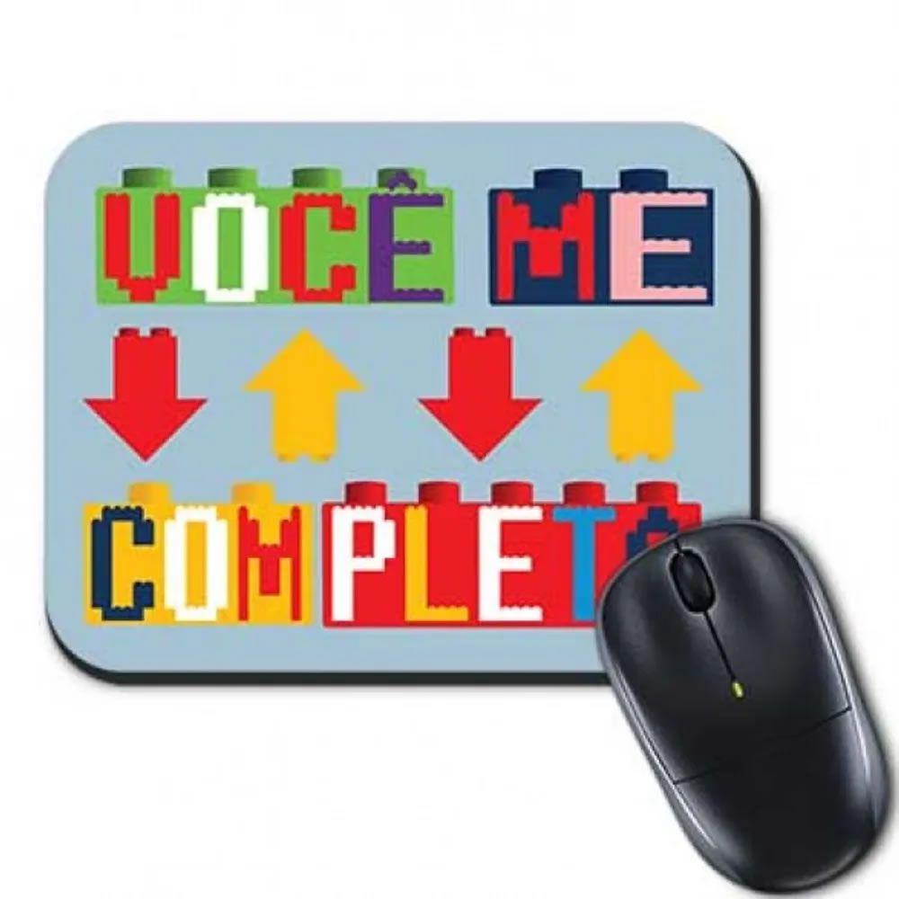 Mouse Pad Você Me Completa