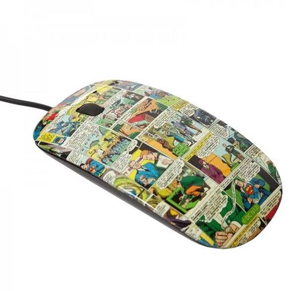 Mouse Quadrinhos DC Comics