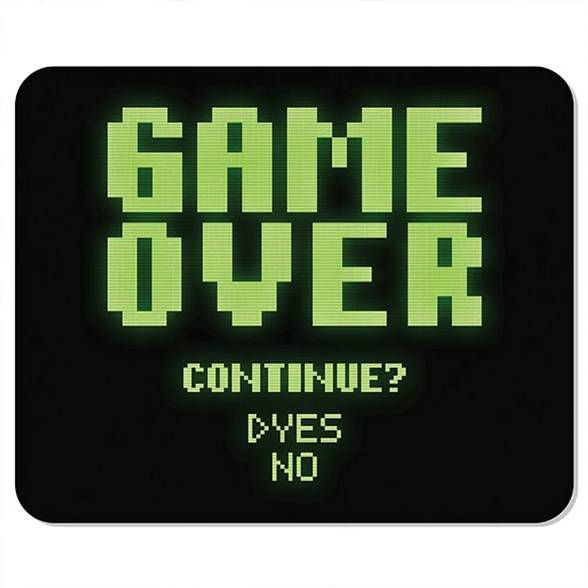 Mousepad Game Over