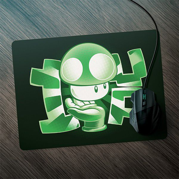 Mousepad Gamer 1UP