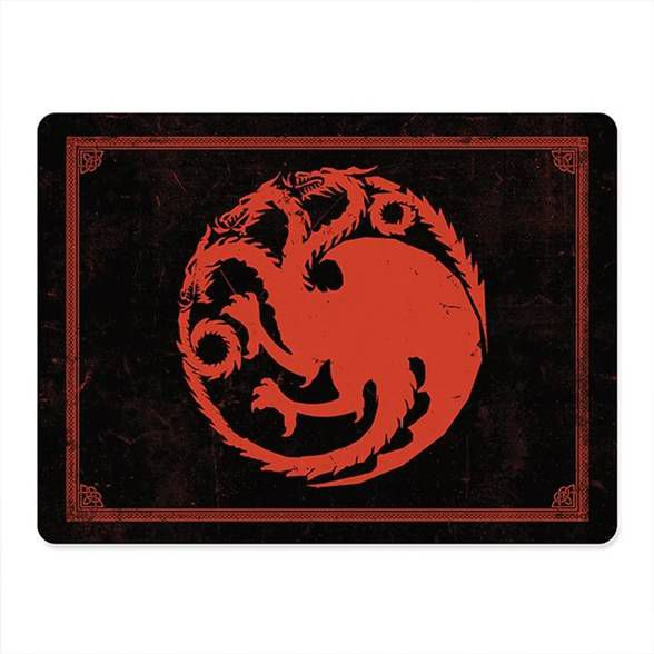 Mousepad Gamer Casa Dragão
