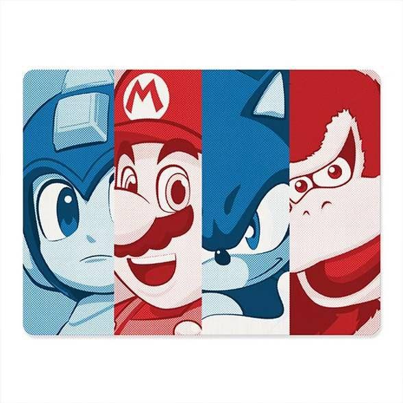 Mousepad Gamer Video Jogos Retrô