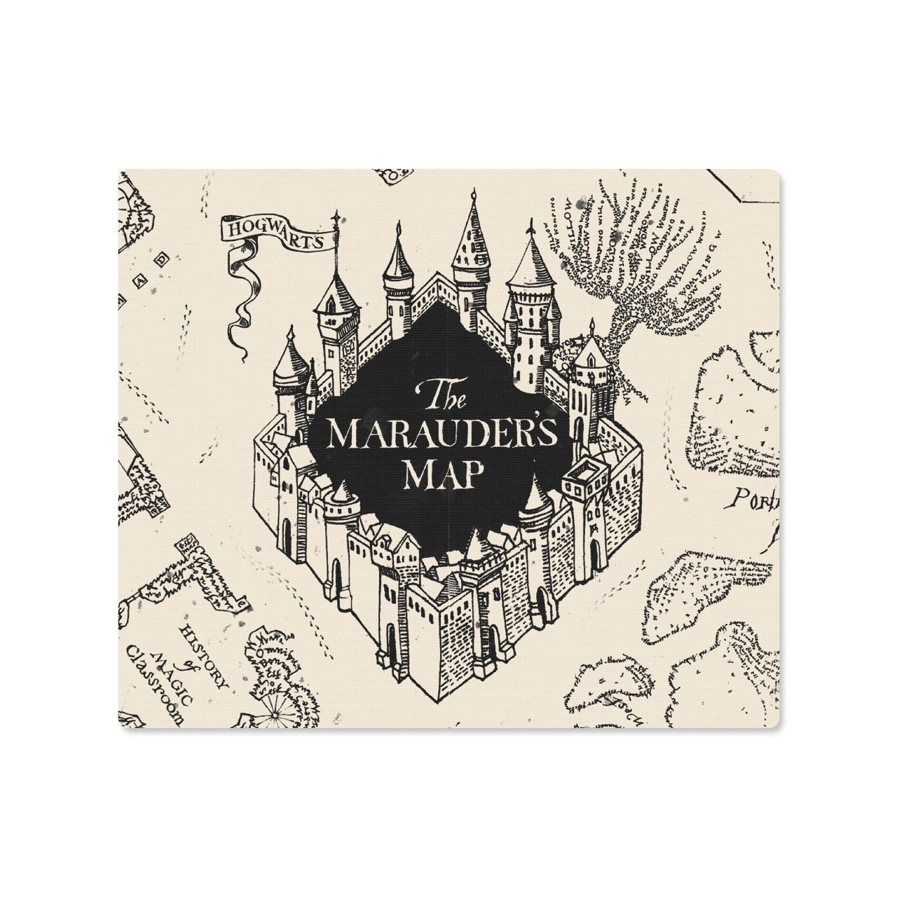 Mousepad Mapa do maroto Harry Potter