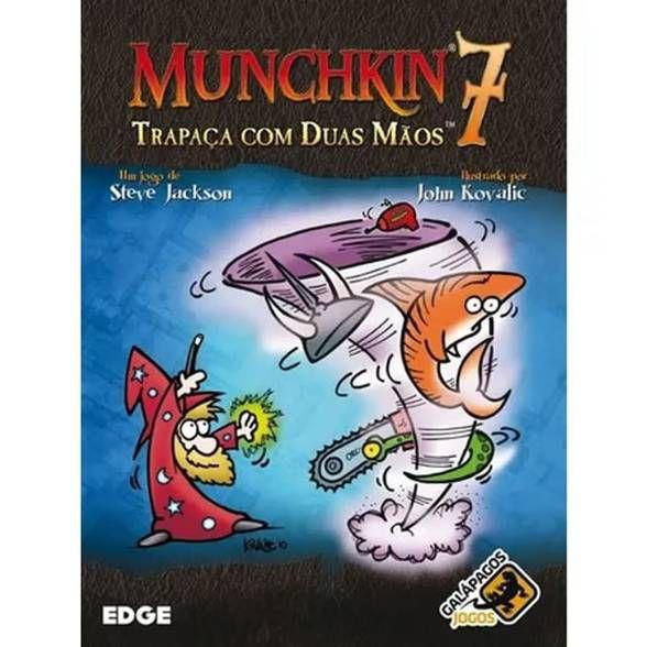 Munchkin 7 - Trapaça com Duas Mãos - Expansão