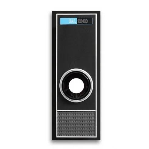 Olho Mágico HAL 9000 - Adesivo