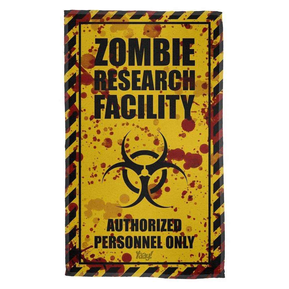 Pano de Prato Zombie Research Facility - Blood