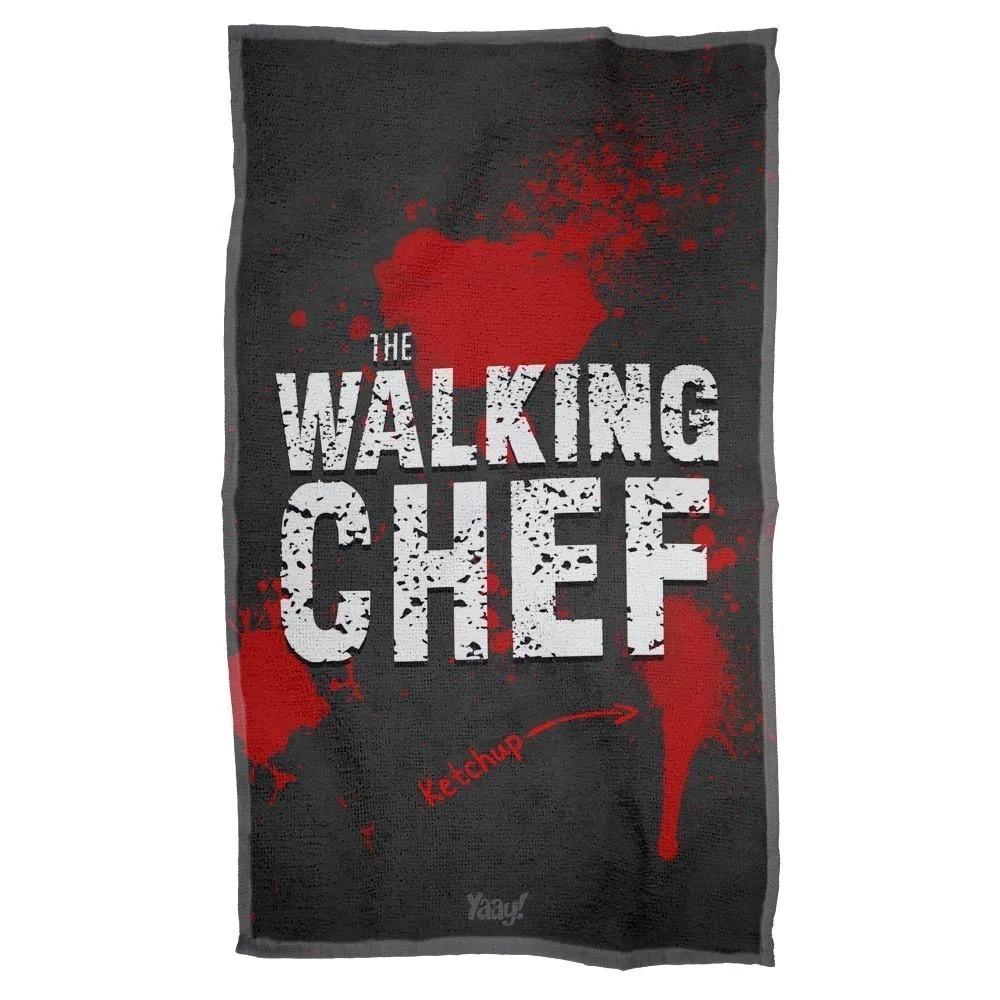 Pano Decorativo Multiuso The Walking Chef