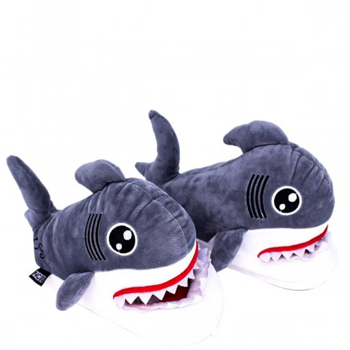 Pantufa Unissex Tubarão
