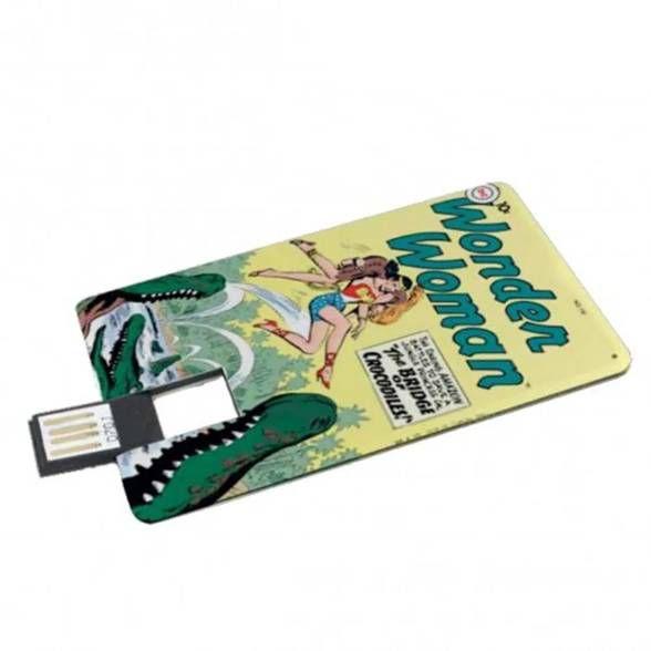 Pen Drive Mulher Maravilha Alligator