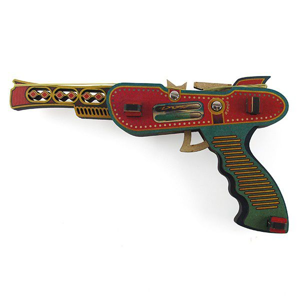 Pistola de Elástico Laser