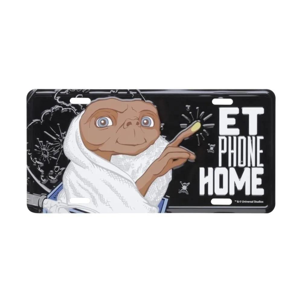 Placa de carro E.T phone home