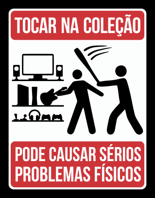 Placa Coleção Gamer