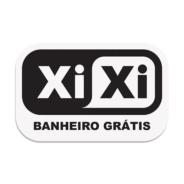 Placa de Lavabo Xi Xi