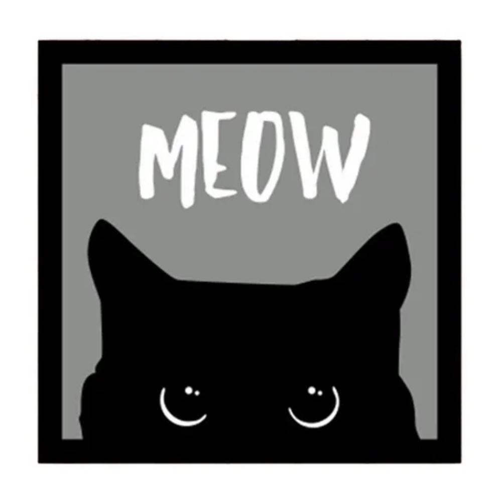 Placa Decorativa Meow