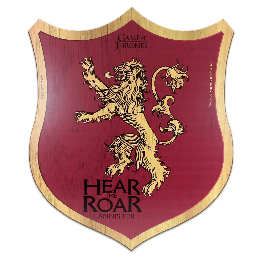 Placa Escudo Lannister